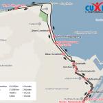 Streckenverlauf Cuxhaven Marathon