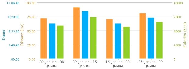 Eddys Sport-Statistik Januar 2012