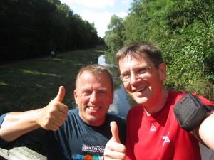Selfie: Eddy & Andreas