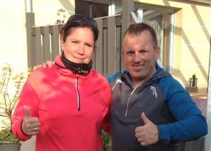 Kathi-und-Eddy-in-Tchibo-Laufkleidung