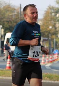Eddy die Marathonne beim swb Marathon in Bremen (2014)