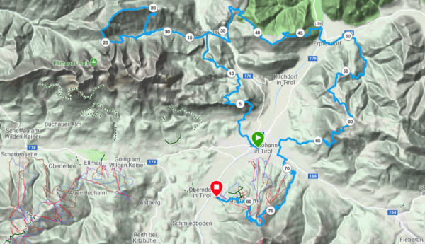 Koasa Trail als GPS-Track bei Garmin Connect