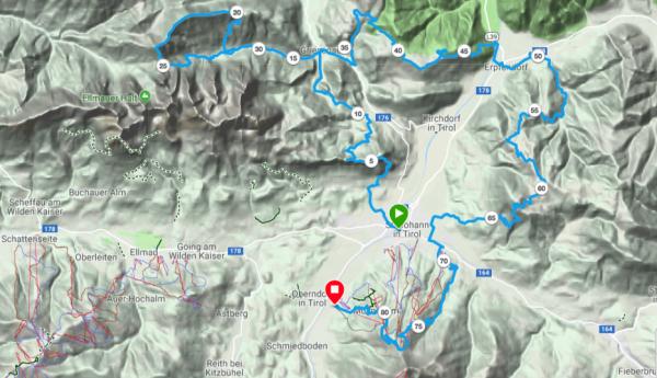 Koasa Trail als GPS-Track bei Garmin Connect