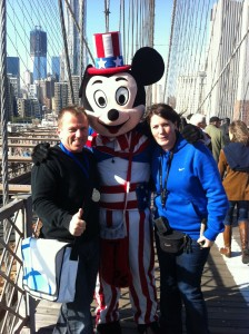 Kathi und Eddy in New York
